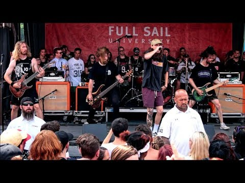 Knocked Loose - Full Set - 2017 Vans Warped Tour - Holmdel, NJ - 07/15/17