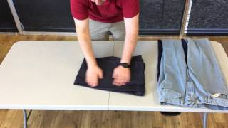 Folding Pants - Liberty Laundry