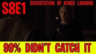 Season 8 Episode 1 Things You Missed! | Game of Thrones Season 8 Episode 1