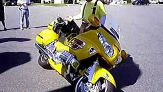 Picking up a dropped Goldwing