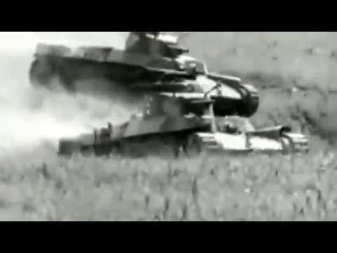 Японские танки Второй мировой. Кинохроника