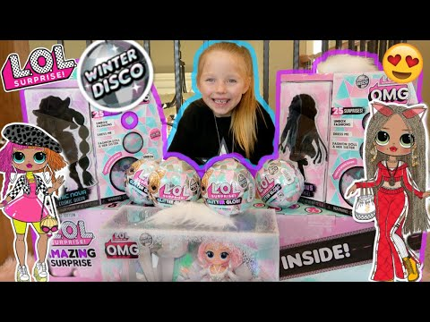 HUGE LOL SURPRISE OPENING! SURPRISING KAIA with NEW DOLLS! The TOYTASTIC Sisters. KIDS OPEN TOYS!