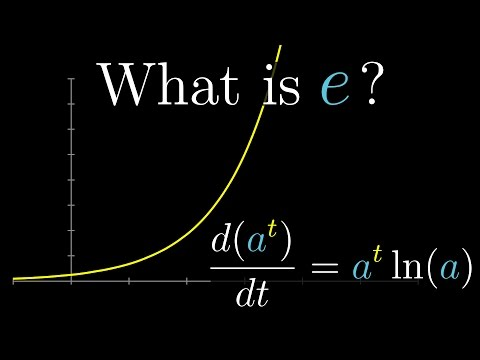 Derivatives of exponentials | Essence of calculus, chapter 5