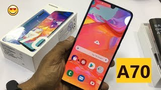 Samsung Galaxy A70 Bangla Review ! Tripple Camera !!
