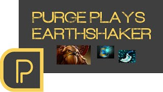 Earthshaker isn't playing much at all in the pro scene at the momen...