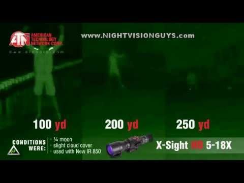 Atn X Sight 5 18x Smart Hd Digital Night Vision Riflescope Dgwsxs518a