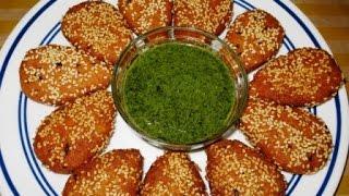 Sesame Coated Sama Rice Cutlets/ Vrat Recipe| Poonam's Kitchen