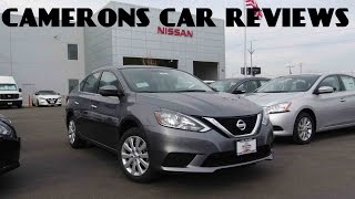 2016 Nissan Sentra SV 1.8 L 4-Cylinder Review | Camerons Car Reviews