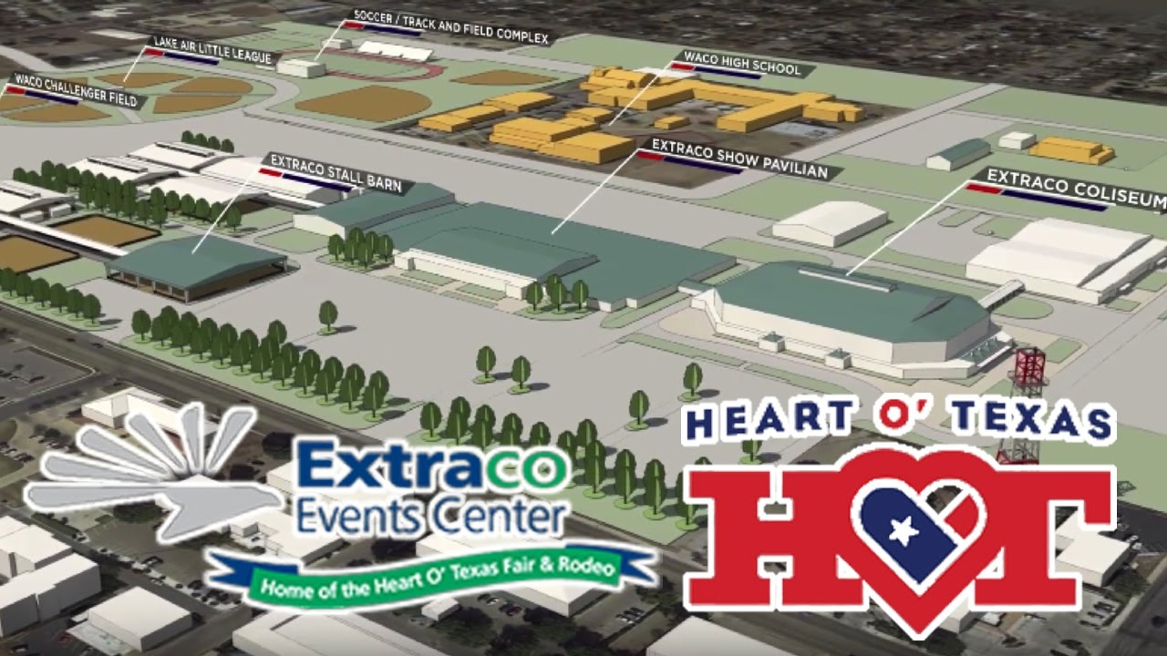 Heart O Texas Fairgrounds And Extraco Events Center Expansion Project