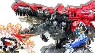 【ZOIDSWILD】Most fear DEATH REX vs WILD LIGER