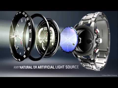 Citizen Eco-Drive - наручные часы, не требующие замены батареи