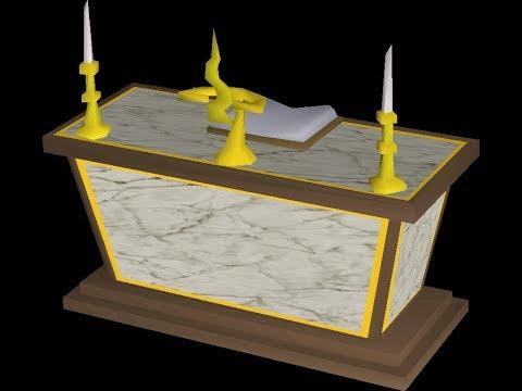 osrs tutorial gilded altar prayer exp boost youtube