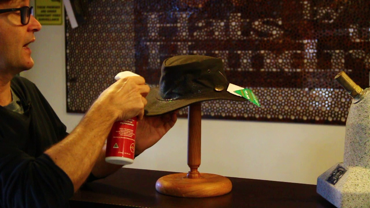Oil Skin Re Proofing Spray for hats- Hats BY The Hundred - YouTube ccc407d7a862