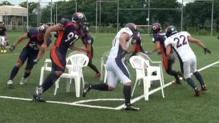 Musical chairs     Football style!