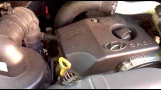 Выхлоп выходит через гнездо одной из форсунок(При покупке Старекса заметил, что на холодную мотор с периодичностью оборотов издаёт чмыхающие звуки. С..., 2011-07-01T07:46:43.000Z)