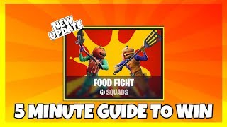 5 Minute Guide To Easily Win the New Fortnite LTM Food Fight
