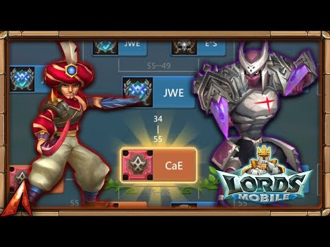 Lords Mobile: CaE Winning Guild Showdown!