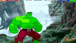 MUGEN Battle #0024 - Cream the Rabbit vs The Hulk