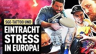 So war es wirklich in Rom! | Pyro, Fans & Frankfurt-Tattoo | FUSSBALL 2000 - Eintracht-Videopodcast