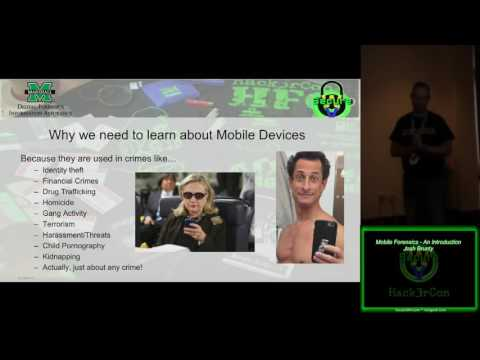 304 Mobile Forensics An Introduction Josh Brunty