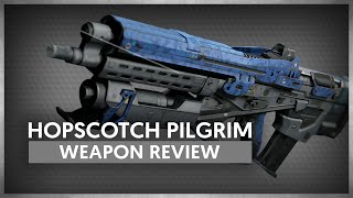 Destiny - Hopscotch Pilgrim - Legendary Pulse Rifle Weapon Review