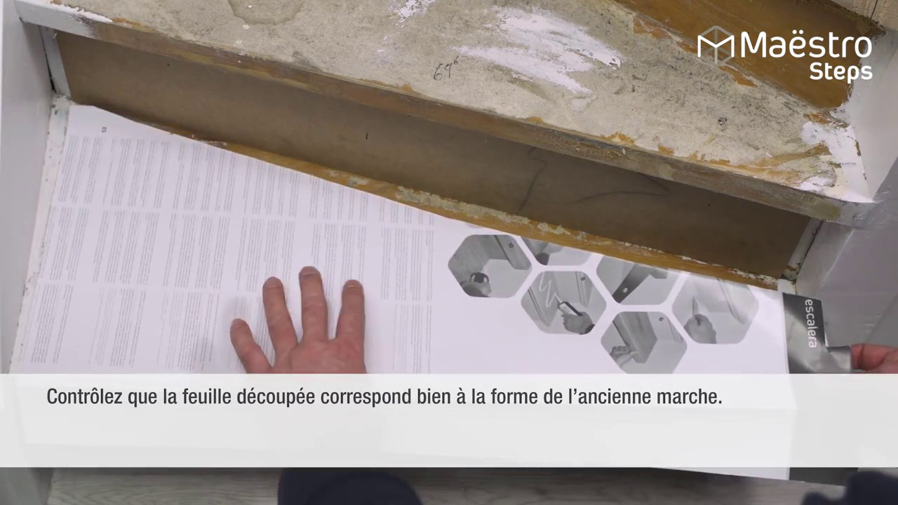 Kit Renovation Marche Escalier Kit Rénovation De Marches Et Contremarches Escaliers - Youtube