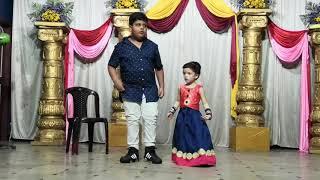 #Anvay Varna A and Aaradya dance (Ambi Ning Vayassaytho | Hey Jaleela)