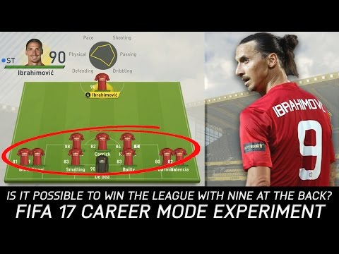 Is It Possible To Win The League With Nine At The Back? - FIFA 17 Experiment