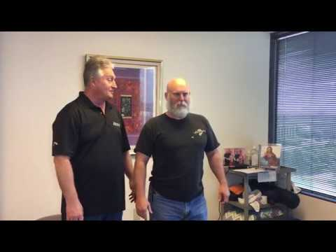 Must Watch Before & After Chiropractic Adjustments On Marine Veteran First Visit