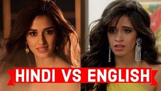 Hindi vs English Songs - Save One Drop One