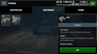 Wot blitz Opening 10 allies containers I HAVE FCM 50 T !!!!