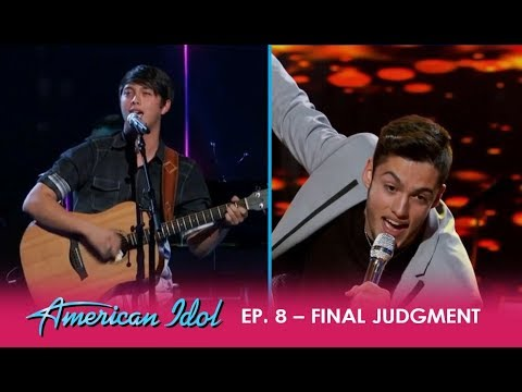 Garrett Jacobs Vs. Laine Hardy: Friends BATTLE For A Spot In The Finals! | American Idol 2018