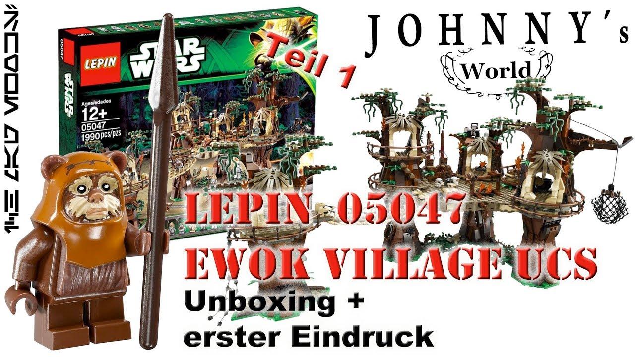 Building Toy 1990pcs 05047 Star Series r The E Set wok Village Model 10236