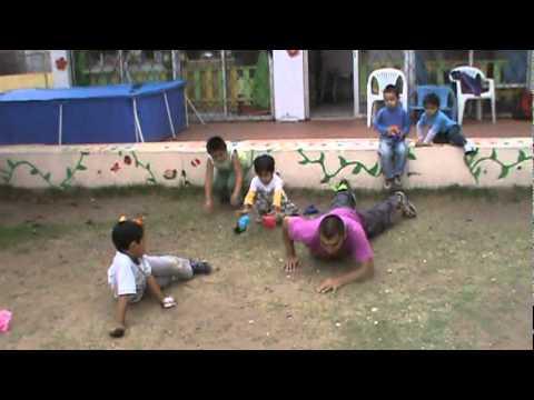 Kindergarten Parkour