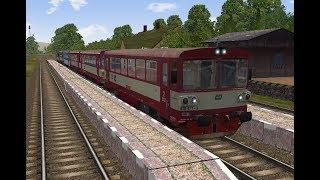 Microsoft Train Simulator - trať BP   Os 14508 Hodonín - Zaječí Ep. 1
