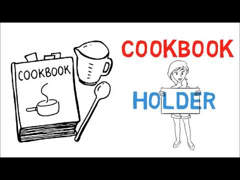 How to Keep Your Cookbook Open and Clean While Cooking - Cooking Hacks
