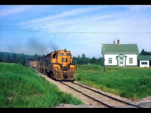 Fallen Flags: Maine Central Railroad - Calais (ghost) Branch. Part 1