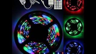 Посылка № 219/220 5ти метровые светодиодные ленты с пультом управления(Aliexpress: http://goo.gl/DMehcO Горящие товары: https://goo.gl/lS1wIe покупал тут: https://goo.gl/GXqDnz ссылка на канал: ..., 2015-10-16T13:00:01.000Z)