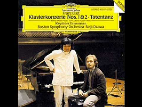 Krystian Zimerman plays Liszt Totentanz (part1 of 2)