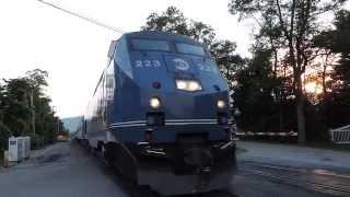 Horns at Manitou - Metro-North and Amtrak Railfanning
