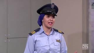 موظفة الأمن الرخمة   SNL بالعربي mp4