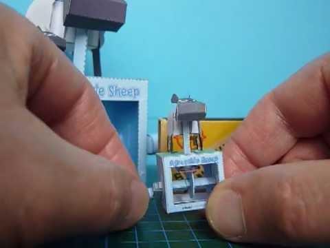 Papercraft Mini Paper Model