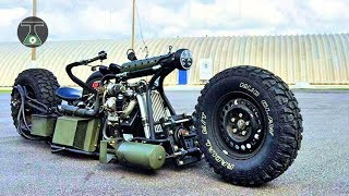 8 Amazing Homemade Vehicles You Need To See
