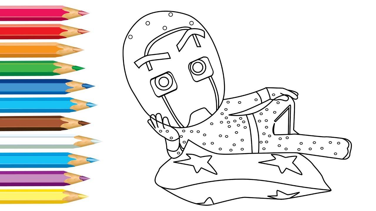 PJ Masks Night Ninja Ninjalinos Drawing and Coloring ...