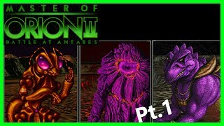 My favorite video game of ALL-TIME, Master of Orion 2! [Part 1]