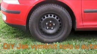 DIY Jak vyměnit kolo u auta čili jak přezout auto