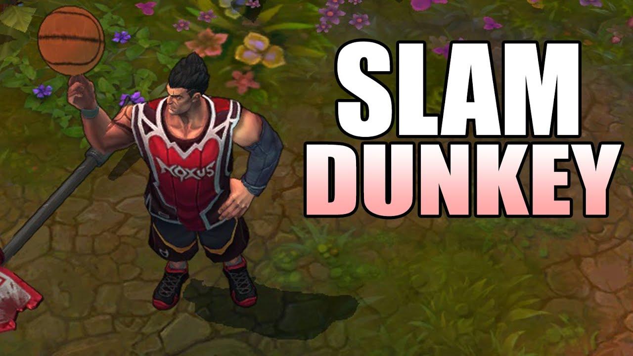 Clip LMHT : Sức mạnh Darius bóng rổ