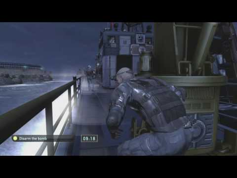 Splinter Cell Double Agent Mission 11- New York Harbor(No Commentary)