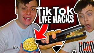 I Tested VIRAL TikTok Life Hacks.. **THEY ACTUALLY WORKED**