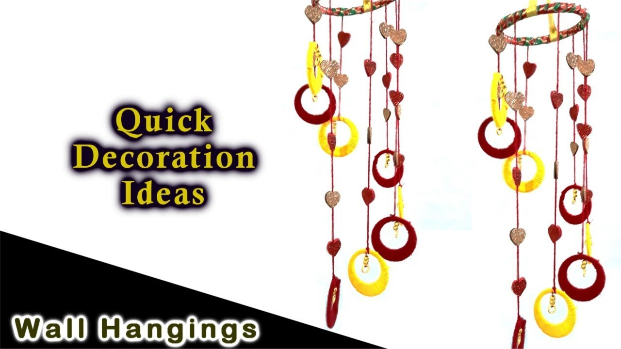 how to make wind chimes at home youtube